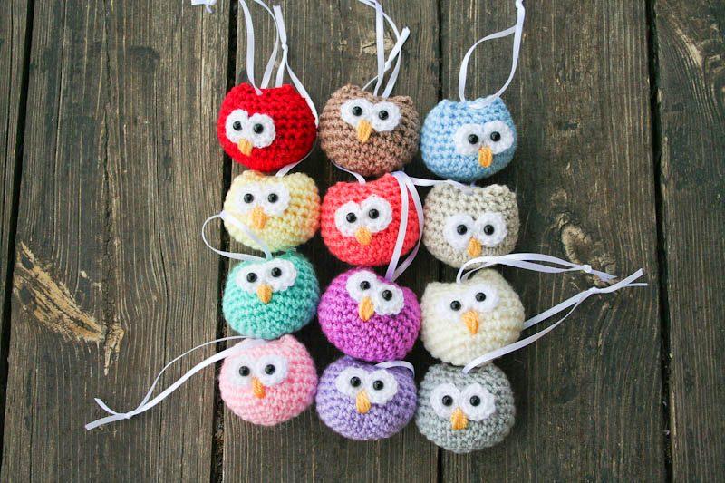 Animal Amigurumi: Mini Snowy Owl Pattern, miniature amigurumi ...   533x800